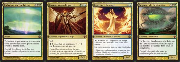 "Exemple de Cartes du Jeu ""Magic, L'Assemblée"""