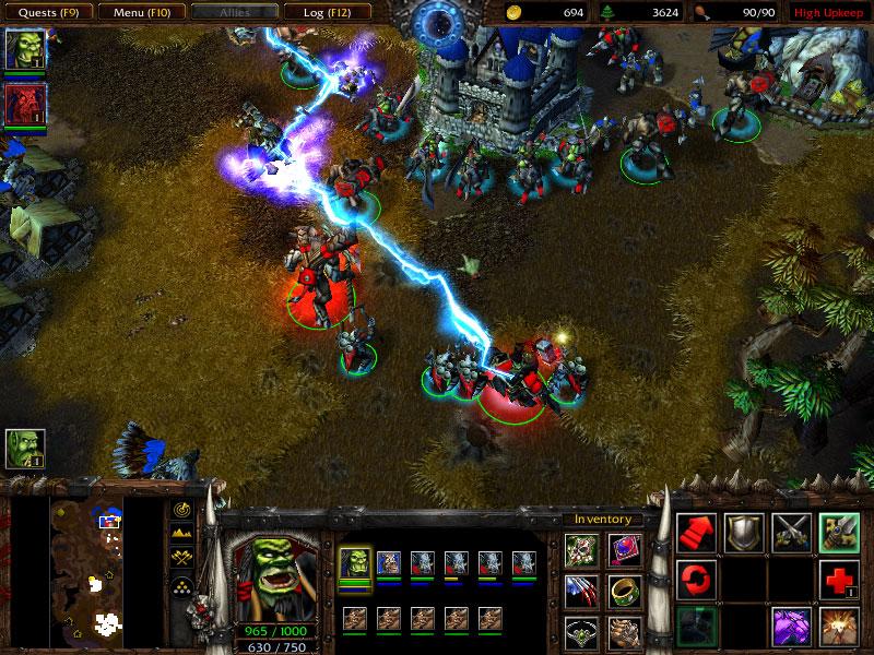 RPGers - Jeux Informatique Warcraft III