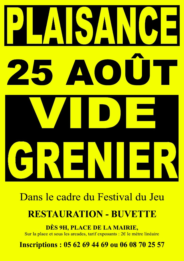Festival du Jeu RPGers-Vide Grenier
